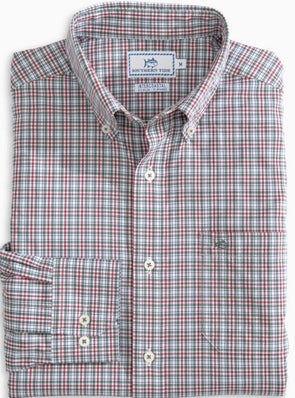 SOUTHERN TIDE  HOLLY MASTERPLAID IC L/S SPORT SHIRT