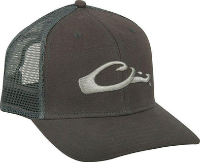 DRAKE WATERFOWL MESH BACK FLAT BILL CAP