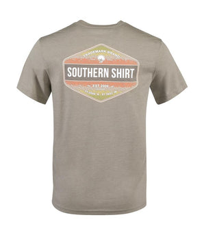 SOUTHERN SHIRT COMPANY  RAINBOW TROUT BADGE S/S TEE