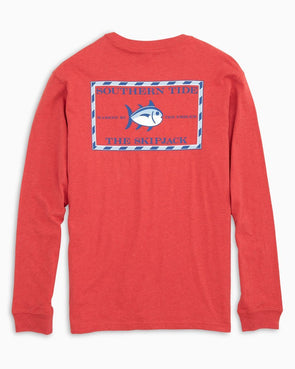 SOUTHERN TIDE HEATHER ORIGINAL SKIPJACK L/S TEE