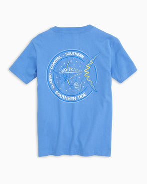 SOUTHERN TIDE SWIMMING AWAY S/S TEE