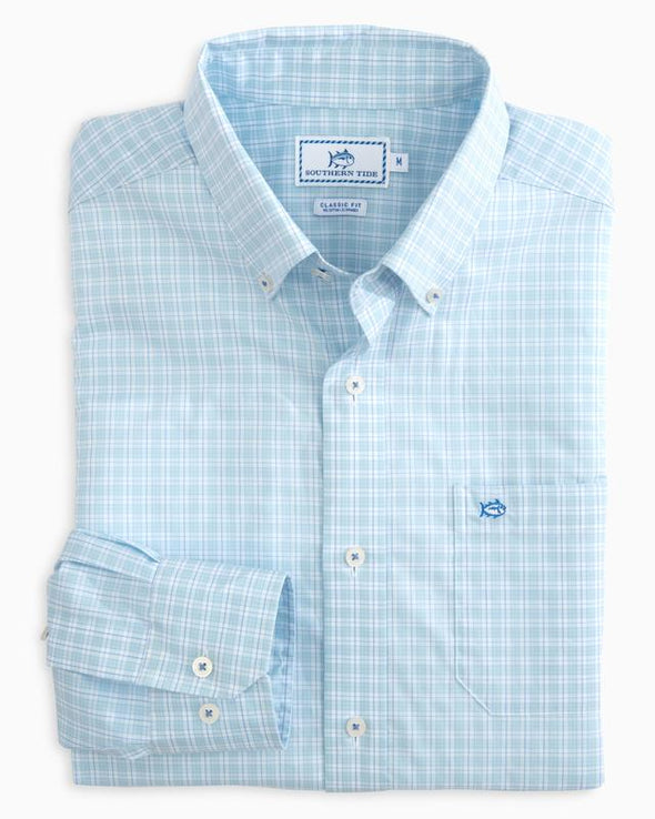 SOUTHERN TIDE BELMONT ESTATE CHECK L/S SHIRT