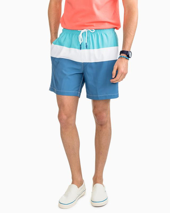 SOUTHERN TIDE  MAMBO BEACH SWIM TRUNK