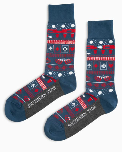 SOUTHERN TIDE RENDEZVOUS SOCKS