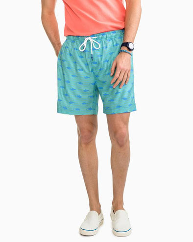 SOUTHERN TIDE SEAWORTHY SWIM TRUNK