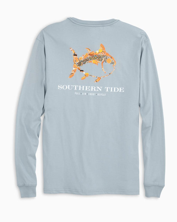 SOUTHERN TIDE PULL AIM SHOOT REPEAT L/S TEE