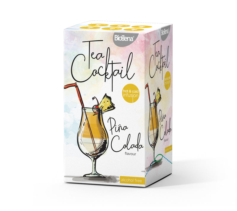 Tea Cocktail Piňa Colada