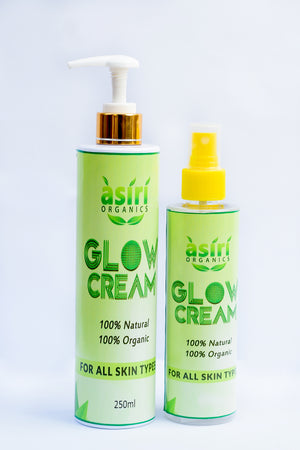 Asiri Organic Glow Soap & Cream