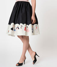 Load image into Gallery viewer, Barbie x Unique Vintage My Barbie Collection Swing Skirt