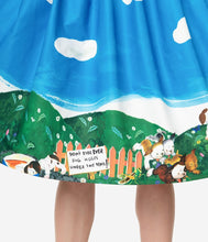 Load image into Gallery viewer, Little Golden Books x Unique Vintage Poky Little Puppy Swing Skirt