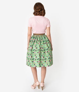 Little Golden Books x Unique Vintage Shy Little Kitten Swing Skirt
