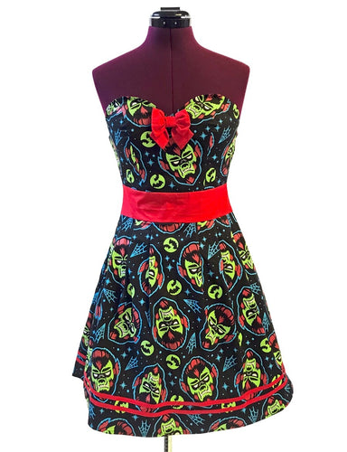 SOURPUSS WOLFMAN PARTY DRESS