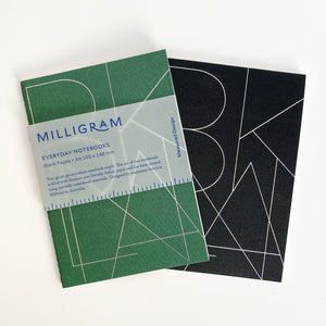 Milligram Notebooks