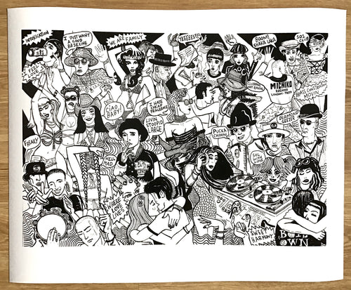 WE ARE FAMILY! limited edition giclee print