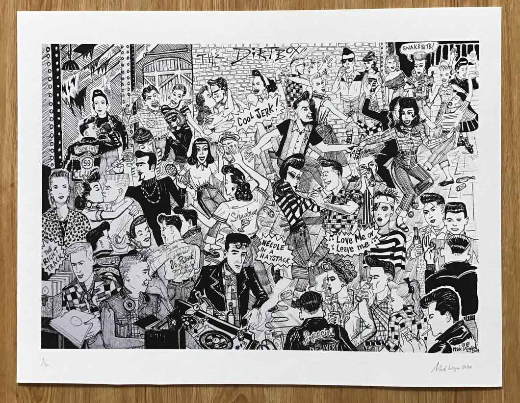 Dirtbox 1 signed Giclee Print