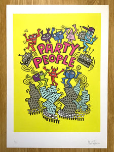 PARTY PEOPLE PRINT
