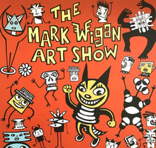 Load image into Gallery viewer, Mark Wigan Art Show signed poster 2017