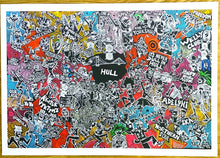 Load image into Gallery viewer, Its Never Dull in Hull signed A3 Giclee print