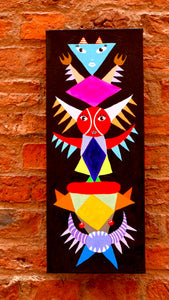 Totemic 1 (2014) painting