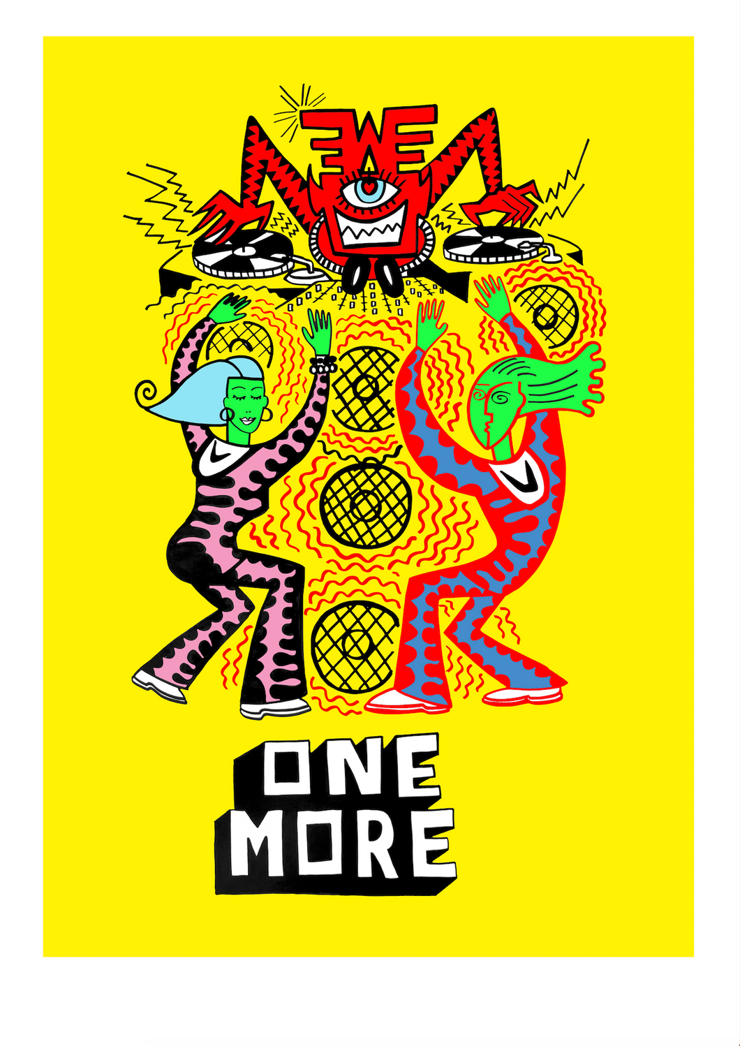 ONE MORE (2021) limited edition giclee art print