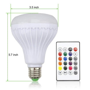 Foco LED inteligente con Bluetooth-Regalos Originales