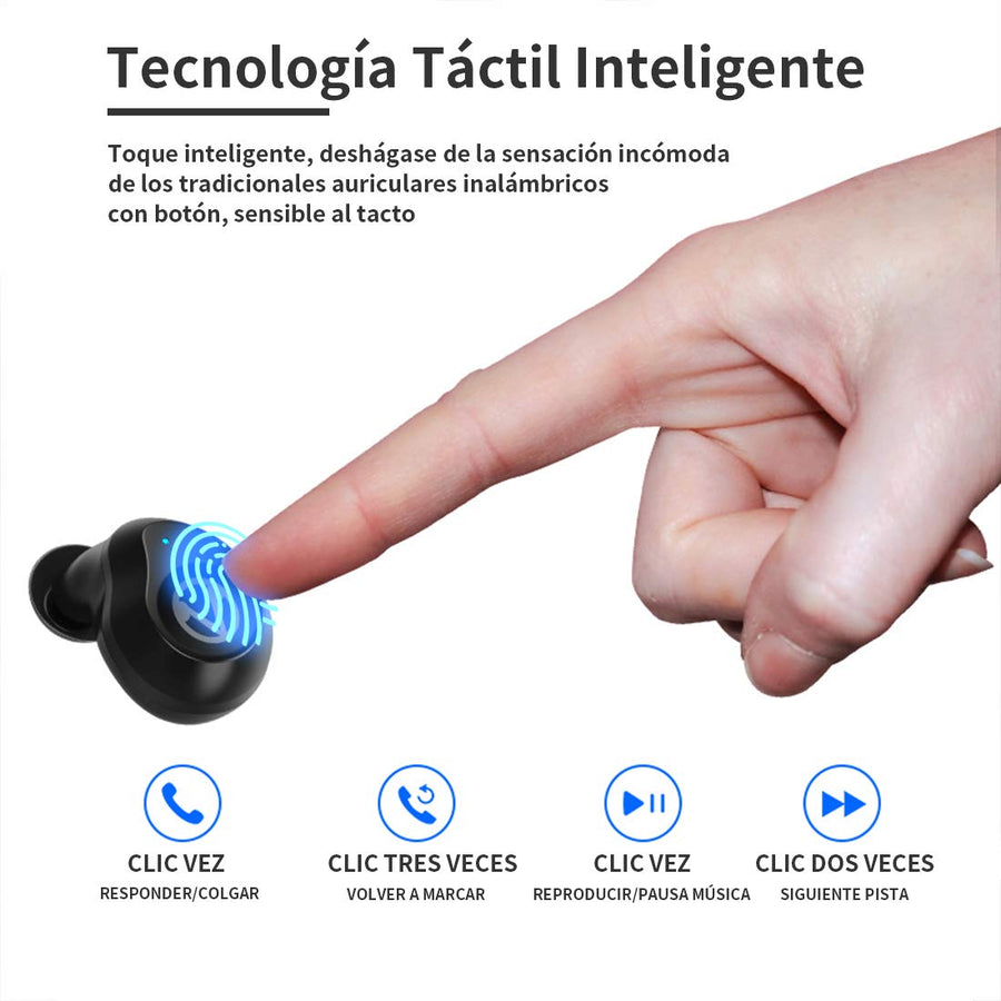Audífonos Wireless Waterproof con Bluetooth-Regalos Originales