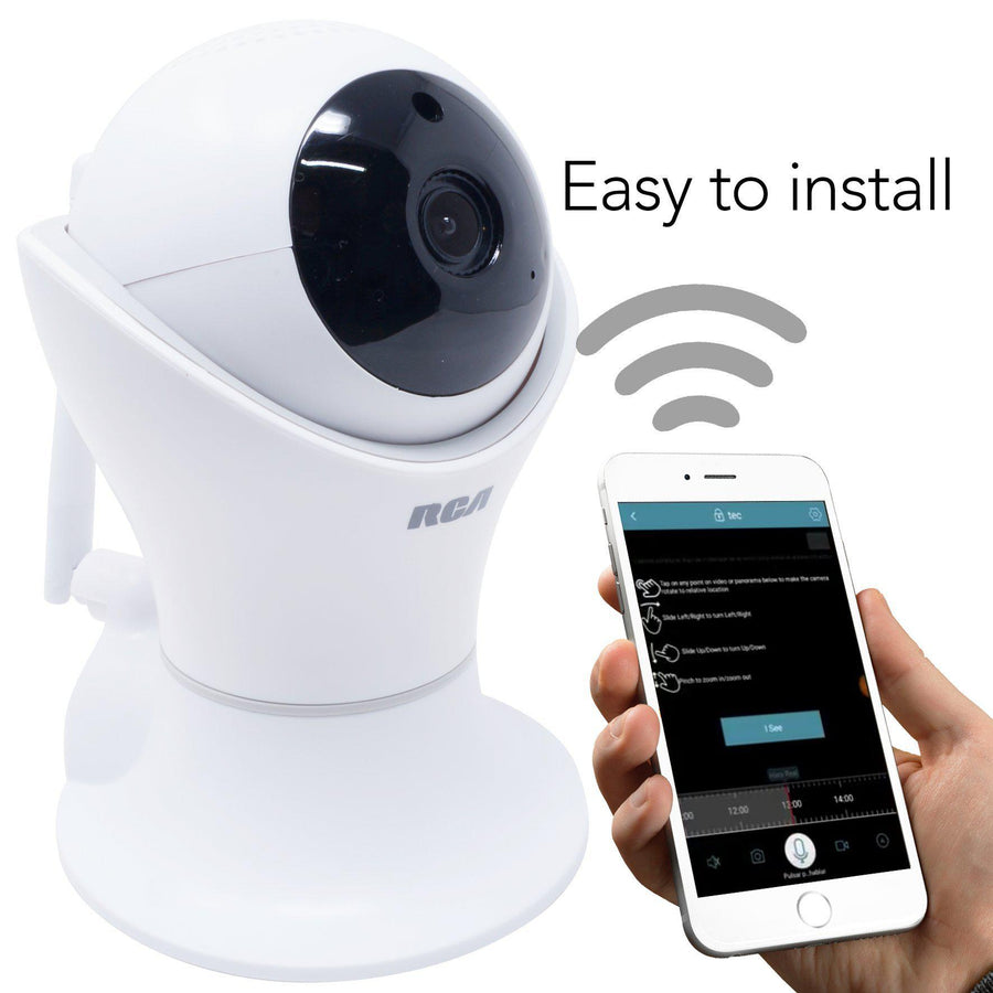 Cámara de Seguridad Wireless HD de 360º-Regalos Originales