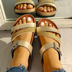Women's Summer Non-Slip Buckle Strap Sandals - Wish.N Dreams