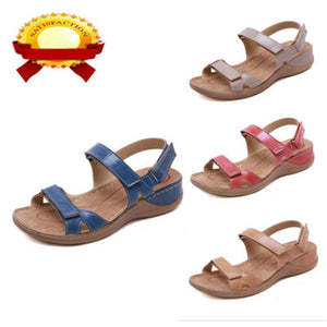 Sandals Soft Comfortable Flat Open Toe Shoes - Wish.N Dreams