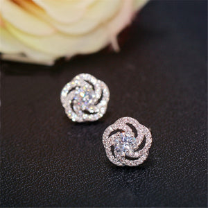 Trendy Stud Earrings 925 Sterling Silver - Wish.N Dreams