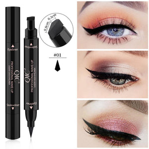 2 In1 Liquid Eyeliner Pencil Stamps  Pen Stamp Eyeliner Pencil Waterproof Quick Dry - Wish.N Dreams