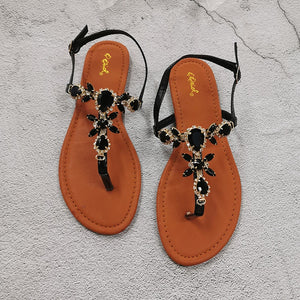 New Fashion Women Sandals Rhinestone Decoration - Wish.N Dreams