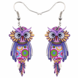Cute  Owl  Drop Earrings - Wish.N Dreams