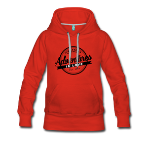 The Lesbian Roadshow Women's Hoodie - red