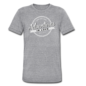 Adventures Unisex Tri-Blend T-Shirt - heather gray