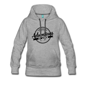 The Lesbian Roadshow Women's Hoodie - heather gray
