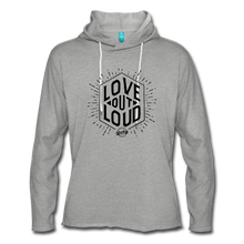 Load image into Gallery viewer, LOL Unisex Lightweight Terry Hoodie - heather gray