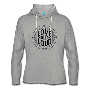 LOL Unisex Lightweight Terry Hoodie - heather gray
