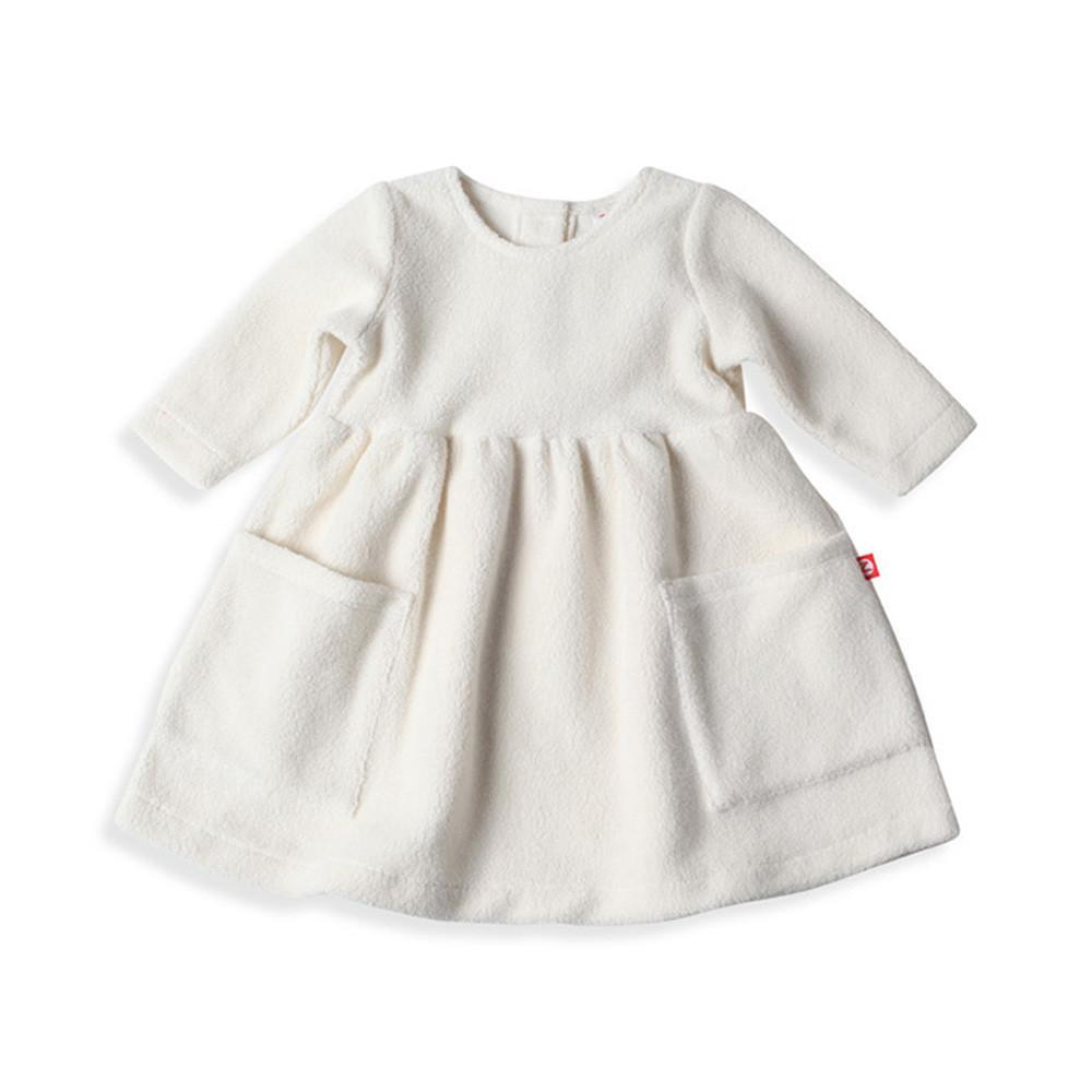 Zutano baby Dress Cozie Dress - Cream