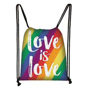 Sac à dos Love is Love LGBT