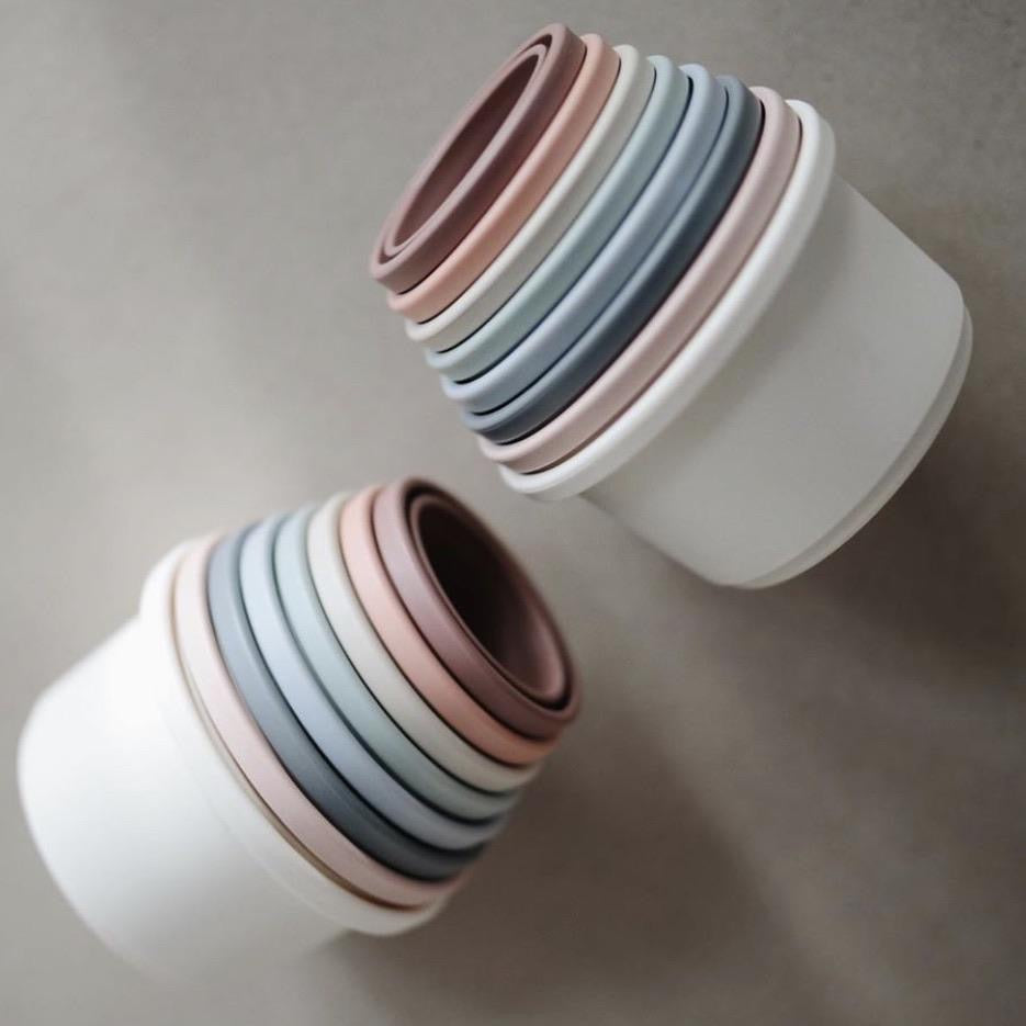 stacking cups | earthy.