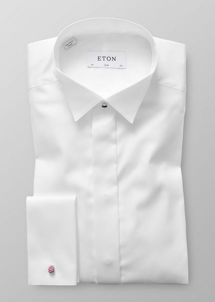SLIM FIT WING COLLAR FORMAL SHIRT