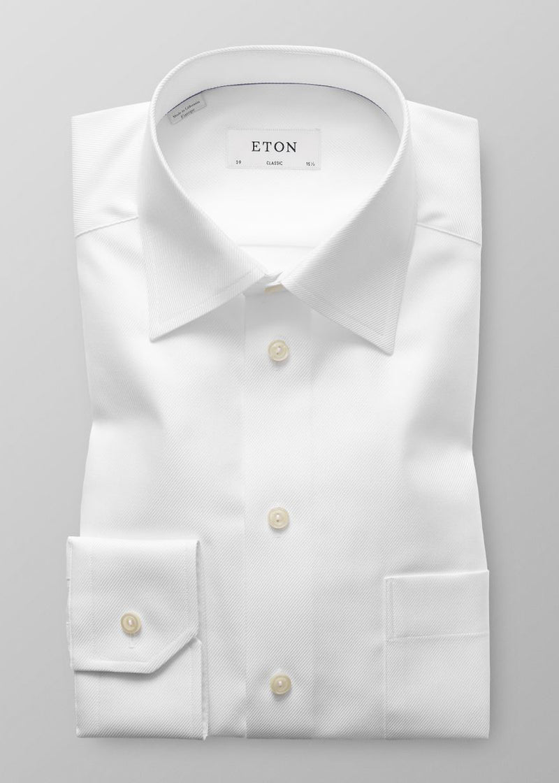 TWILL CLASSIC FIT DRESS SHIRT