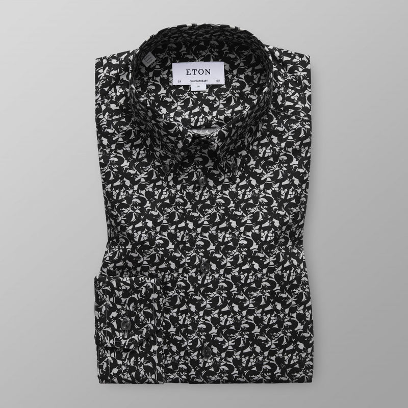 FOX PRINT CONTEMPORARY FIT