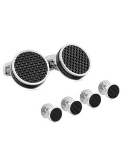 CARBON FIBRE DISC STUD SET