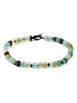 POMPEII GLASS BEAD BRACELET