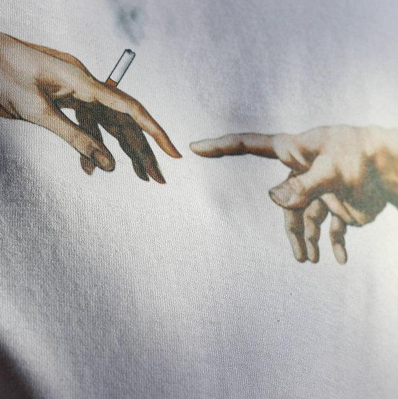 The Creation of Adam - Michelangelo Tee