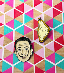 Salvador Dali Enamel Pin Multipack - Artsyez Unique Art Gifts