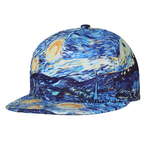 STARRY NIGHT CAP VAN GOGH - Artsyez Unique Art Gifts