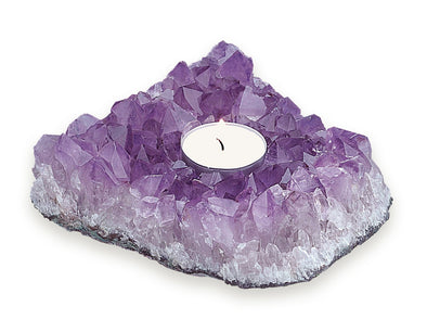 Candle Holder: Amethyst - Small